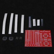 SMD SMT Components Practice Board Solder Skill Training Beginner DIY Kit