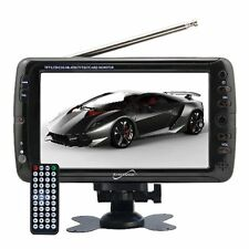 SuperSonic 7-Inch Portable Digital LCD TV AC/DC (SC-195)
