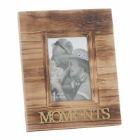 Moments Weathered Vintage Style 6 x 4 Photo Frame Gold Lettering 61455