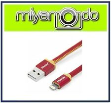 PlusUs Handcrafted USB Lightning Cable (Ruby Sunset) For iPhone iPad iPod