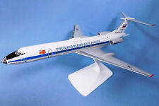 Handmade Military-air forces of Russia MODEL AIRCRAFT Tu-134A-3 1:100