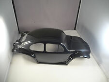 NEW VW BAJA BUG BEETLE BODY SHELL FOR TRAXXAS E-REVO 1/10 - GLOSS BLACK