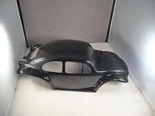 NEW VW BAJA BUG BEETLE BODY SHELL FOR TRAXXAS E-REVO 1/10 - GLOSS BLACK