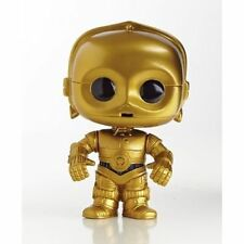 Star Wars Series 13 C-3po Pop Vinyl Bobble Head Figure W Stand Funko C3po