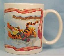 Disney Winnie The Pooh Mug Eeyore Tigger Ice Skating #3867 Houston Harvest Gifts