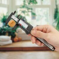 Pratico calibro digitale elettronico in plastica da 100 mm Schermo a LCD KIT