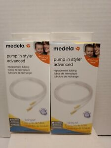 P -NEW Medela Pump in Style Advanced Replacement Tubing Lot of 2 Authentic Parts
