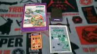 Utopia (for Intellivision) w/Manual, One Overlay, and Box!
