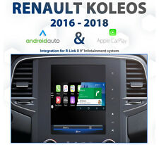 Renault Koleos R-Link II - 2016 to 2018 Android Auto & Apple CarPlay Integration