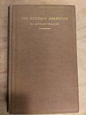 The Eustace Diamonds by Anthony Trollope (1872 1st Am Ed)