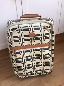Orla Kiely Car Print Cabin Upright Hand Luggage Travel Bag