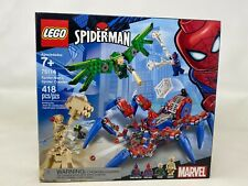 Gently Used Lego Spider'-Man's Spider Crawler 76114