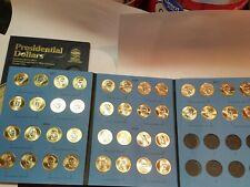 Volume 1 Complete Set (P&D) 2007-2011 Presidential $1 Golden Dollar BU 40 Coins