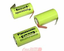 12x Pana_sonic Ni-Cd Sub C N-1900SCR 1.2V 1900mAh Battery 2.9A Fast charge