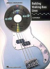 Building Walking Bass Lines Learn to Play Jazz Blues Guitar Chord Music Book