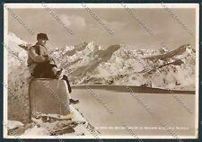 Aosta Colle San Teodulo Foto FG cartolina D9435 SZI