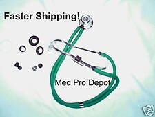 New in Box TEAL GREEN SPRAGUE RAPPAPORT STETHOSCOPE