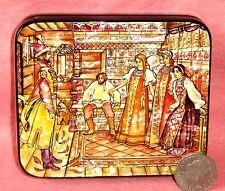 Russian LACQUER trinket Box BILIBIN illustration Fairy Tale MARIA MOREVNA signed