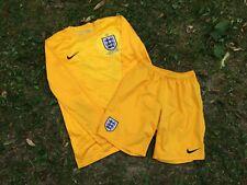 England Goalkeeper football shirt 2013/2014 Jersey M Shorts Nike Soccer Yeelow