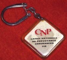 porte-clé Keyring CNP Caisse nationale prévoyance assurances vie design SAVIGNAC