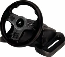 Logitech Driving Force Wireless Racing Wheel for SONY Playstation 2,3 PS 2,3