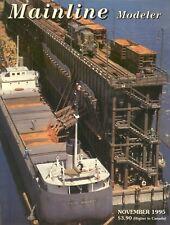 Mainline Modeler Magazine November 1995, LNG's Fueling Station, By George