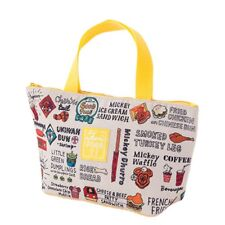 Tokyo Disney Resort Mickey Mouse Lunch Mini Tote Bag Park food Design  2018 New