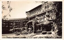 Real Photo Postcard Huntington Hotel in Pasadena, California~111840