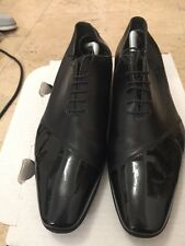 Christian Dior Men's Leather & Diagonal Patent Shoe UK 10