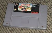 MONOPOLY Super Nintendo SNES Game Tested VIDEO GAME CARTRIDGE Authentic FREESHIP