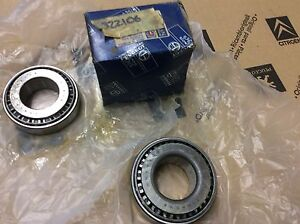 peugeot 504 505 604 pickup genuine front differential kit 322106 timken bearings