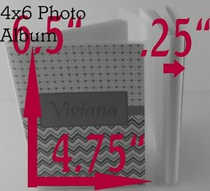 ADD NAME Photo Album 4x6 5x7 Picture Personalized Shower Gift Baby Boy Girl Car