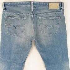 Mens Diesel LARKEE 0888B Straight Regular Fit Blue Jeans W36 L34