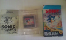 Video Gioco Retro Sega Game Gear Box Sonic The Edgehog 1 NTSC US RARE