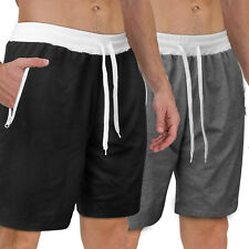 Men Casual Mesh Shorts Basketball Sports Active Gym Fitness Pants Workout Summer