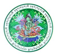 Feng Shui Green Tara Window Sticker