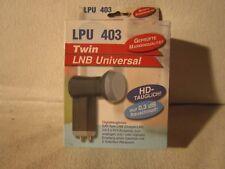HD Twin LNB LPU 403  Neu