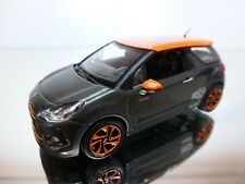 NOREV CITROEN DS3 RACING - ANTHRACITE + ORANGE 1:43 - EXCELLENT CONDITION - 34
