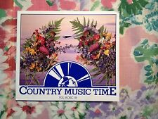Radio Show: COUNTRY MUSIC TIME IX/18 BOY HOWDY & M.CHESNUTT/K.CHESNEY IN STUDIO
