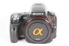 Sony Alpha SLT-A33 SLR Digital Camera Chassis/Body clicks: 11.120