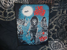 SLAYER Backpatch Patch Black Thrash Metal Venom Sodom X Live Undead