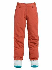 $100 Burton Sweetart Snowboard Pants Girls Georgia Peach Large AB356 NEW L