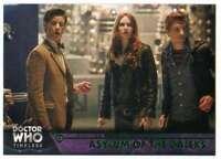 2016 Topps Doctor Who Timeless Green Foil Parallel #83 Asylum of the Daleks