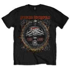 Officially Licensed Avenged Sevenfold Drink Mens Black T-Shirt Adult Large