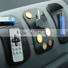 New 2pcs Black Anti-Slip Car GPS Phone Holder Dashboard Sticky Pad Non-Slip Mat