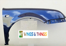 Vw Polo 02-05 Driver Side Front Wing NEW PAINTED INDIGO BLUE LB5N