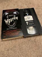 Wolfen VHS 80's Horror Movie Werewolf Albert Finney Monster