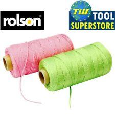 Rolson 152m Extra Forte posa mattoni fluorescenti linea di Corda Stringa verde o rosa
