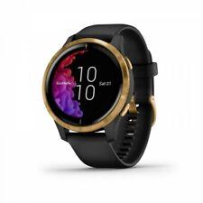 Garmin venu GPS-часы-черная с золотой фурнитурой и AMOLED экран 010-02173-31