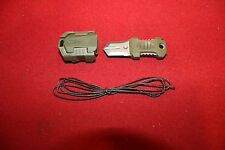 SURVIVAL GEAR KNIFE TACTICAL MOLLE WEBBING BACKPACK HIKING EDC TOOL MILITARY NEW